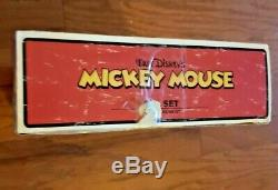 Vintage Mickey Mouse Tea Set 12 Piece Mickey Mouse Porcelain Set Schylling
