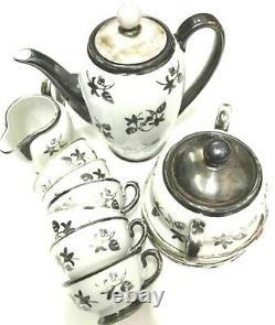 Vintage Tea Set- By Dekor RW Bavaria-Feinsilber 17 pieces