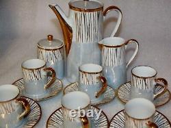 Vintage tea set Made in Japan 15 piece tea set high tea elegant set no chips